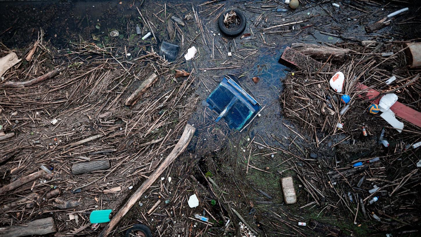 Auch in Ansbach sind Bürger von den Folgen des Hochwassers betroffen.