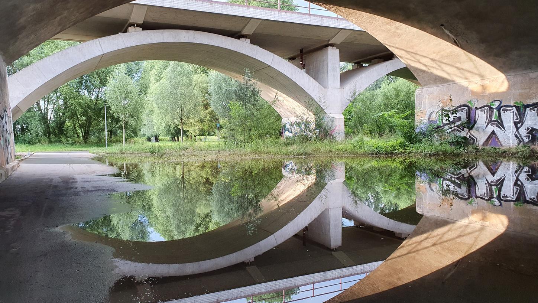 Das jüngste Hochwasser, hier an der Siebenbogenbrücke, ging in Fürth vergleichsweise glimpflich ab. Doch es kann auch anders kommen, warnen Kritiker.