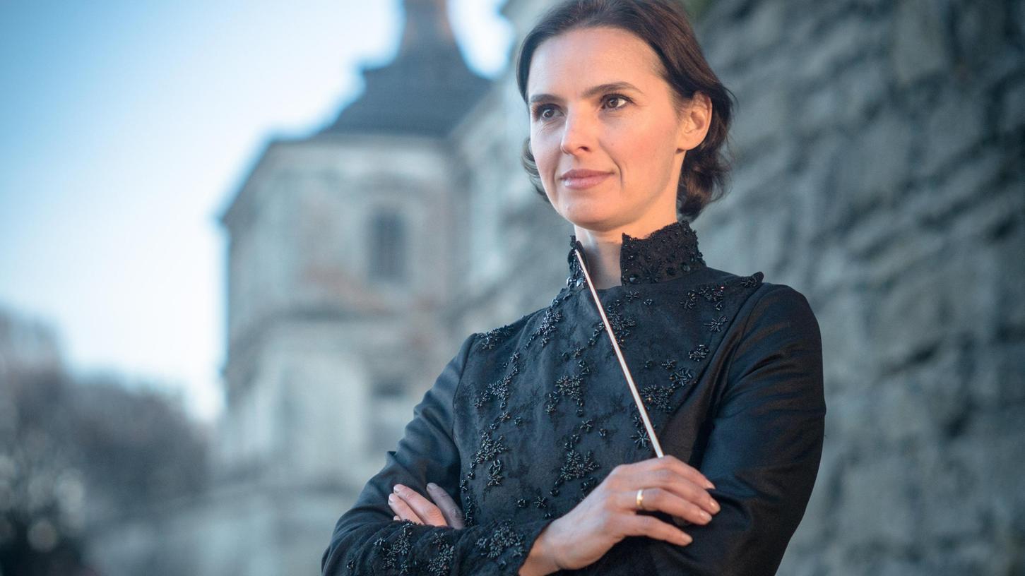 Oksana Lyniv (43), Dirigentin aus der Ukraine, sorgt für denerklärten Höhepunkt der diesjährigen Bayreuther Festspiele.