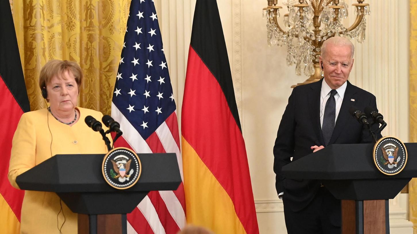 Die umstrittene Gasleitung aus Russland hat sogar den Neustart von Angela Merkel mit Joe Biden erschwert. Doch nun steuern Berlin und Washington auf einen Kompromiss zu.