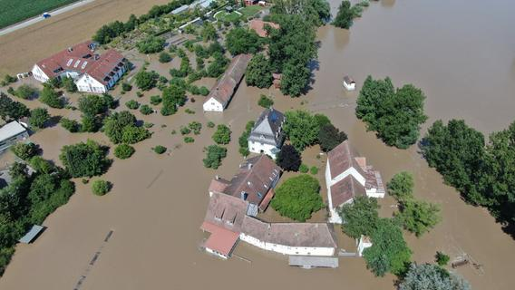 Flutopfer in Franken: Schon mehr als eine halbe Million Euro gesammelt