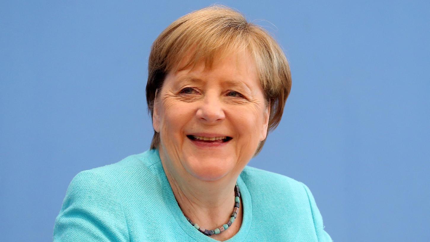 Bundeskanzlerin Angela Merkel stellte sich den Fragen der Journalisten und Journalistinnen auf der Bundespressekonferenz.
