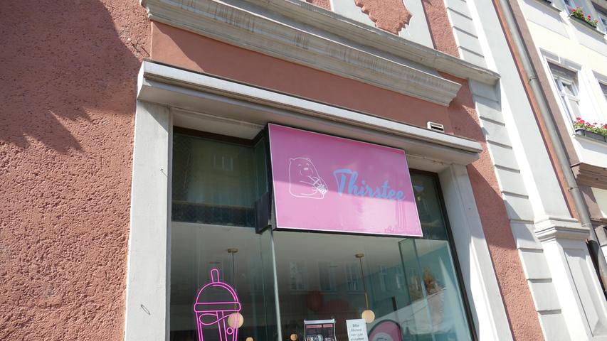 Der Betreiber des Restaurant Cocoon eröffnete am 3. Juli einen Bubble Tea-Laden in der Langen Straße 3 - zur Eröffnung gab es kostenlose Zuckerwatte und Popcorn.