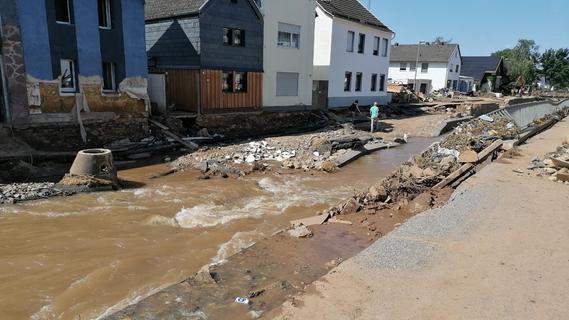 Bilder zeigen das Ausmaß des Hochwassers in NRW