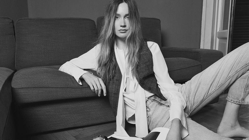 Eines der Bilder, mit denen Gloria-Sophie in der Agentur Iconic Management als Model gelistet ist.