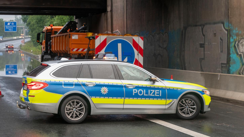 Die Polizei stoppte ein Auto, das einemEinsatzwagender Polizeinachgeahmt war. (Symbolbild)