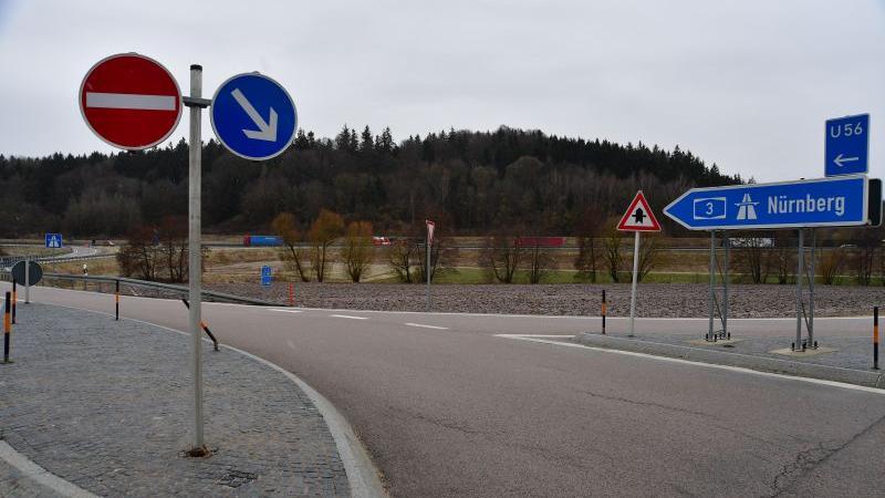 Wegen Bauarbeiten wird die Zufahrt Neumarkt-Ost gesperrt.