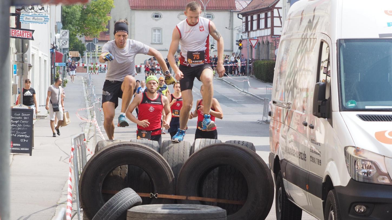 Reifen-Rallye: Auf die Rats Runners werden am 15. August einige Hindernisse zukommen. Allerdings wird der Parcours diesmal weniger spektakulär, wodurch man auch den Zuschauerandrang minimieren möchte.