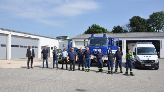 Nach Hochwasser in NRW: Helfer aus Lauf sind im Einsatz