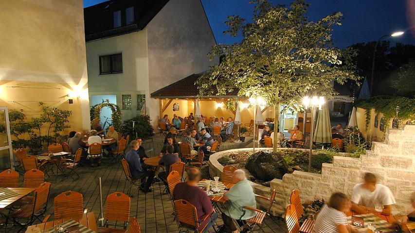 In Grafenwöhr wartet der Biergarten
