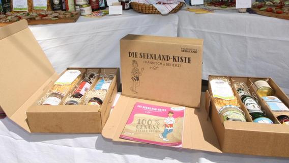 Seenland-Kiste: Neuer, leckerer Markenbotschafter für Altmühlfranken