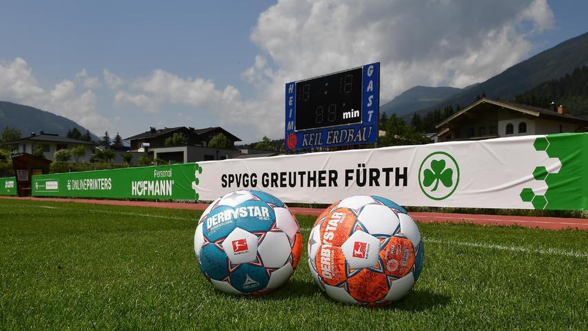... denn nach sechs Tagen in Neukirchen und Bramberg geht es am Samstagfrüh nach Deutschland. Um 14 Uhr steht in Rottach-Egern ein Testspiel gegen Hoffenheim an.