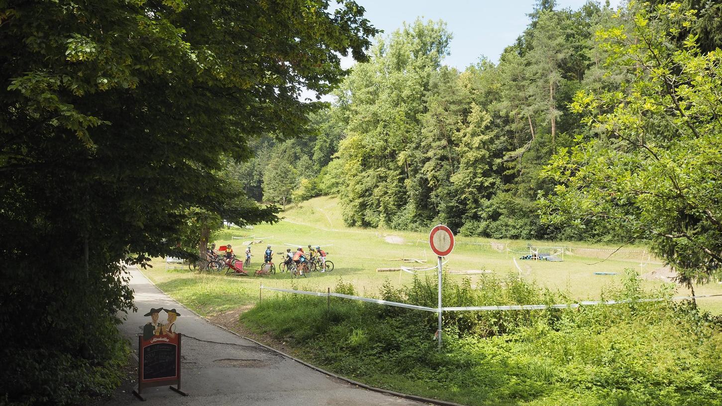 Der Skihang und das gesamte Heumöderntalsind beliebt bei Bikern.
