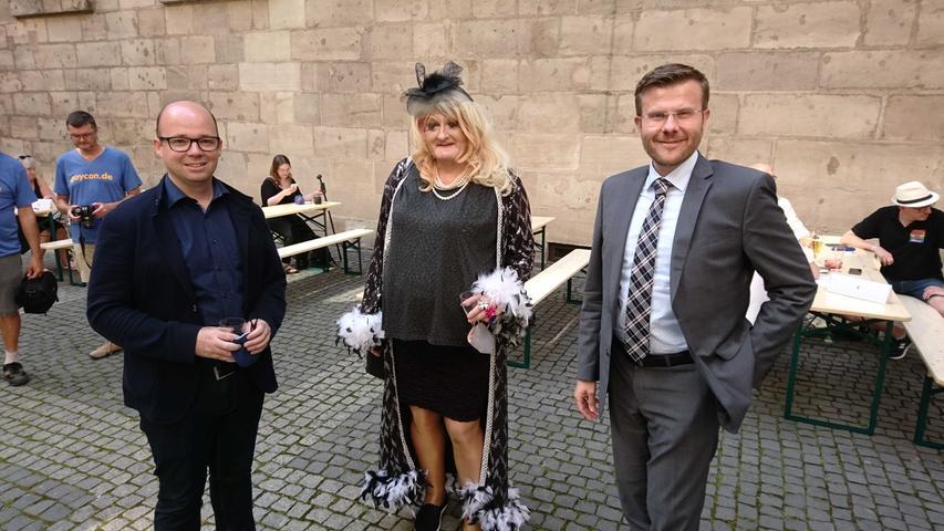 Nürnbergs OB Markus König lud LGBTQ-Community ins Rathaus ein