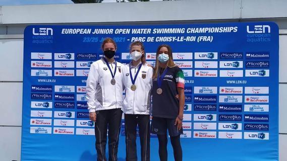 Plötzlich Europameisterin: Julia Barth vom TB Erlangen überrascht