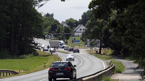 Bauarbeiten: B299 in den Ferien gesperrt