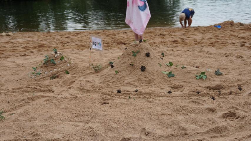 Die Teilnehmerquote war heuer hoch. Insgesamt 18 Gruppen buddelten im Sand - mehr als in den vergangenen Jahren.