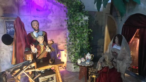 Die Heilige Familie verbringt die Ferien zuhause