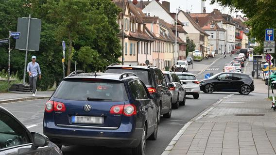 Verkehrschaos in Erlangen: Stadt zu Kompromiss bereit