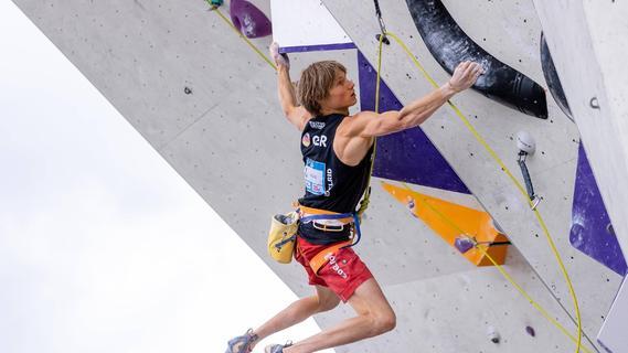 Showdown bis zum Olympia-Wettkampf: Alexander Megos in Tokio