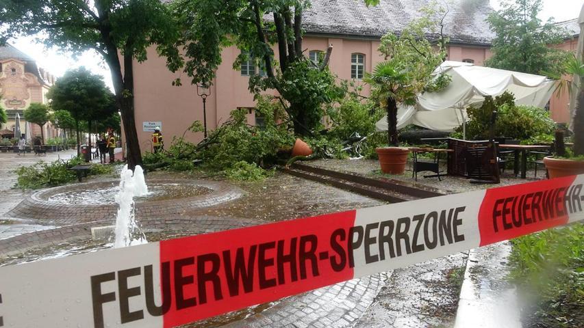 Erneut schwere Unwetter: Viele Teile Deutschlands stehen unter Wasser