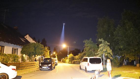 Darum kreiste am Montagabend ein Hubschrauber über Nürnbergs Westen