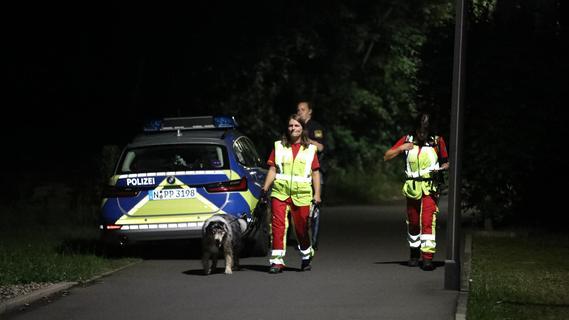 Hubschrauber im Einsatz: Großaufgebot sucht nach vermisstem Mann in Nürnberg