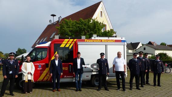Brandneu für die Brandbekämpfer: Mörsdorfer Feuerwehr erhält Löschfahrzeug