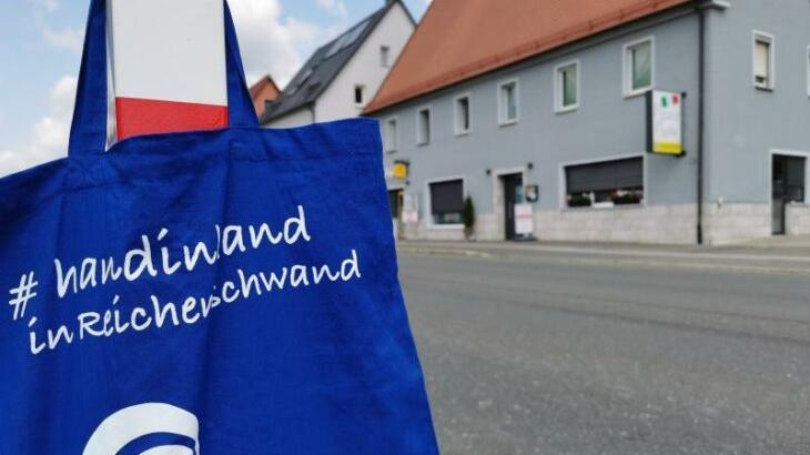 Erstes sichtbares Zeichen des Forums Reichenschwand sind die Stofftaschen, die die Mitglieder an die Bürger ausgaben.