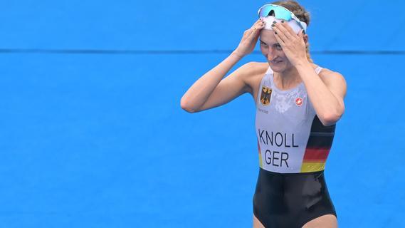 Gefroren, gefangen, stolz: Knoll über ihren Olympia-Triathlon