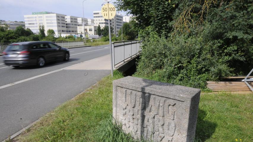 Auch an der Ludwig-Erhard-Brücke kommt es in den Sommerferien zu Einschränkungen für den Verkehr.