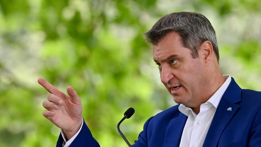 Kommentar zur Söder-PK: CSU-Chef ohrfeigt Laschet in Serie