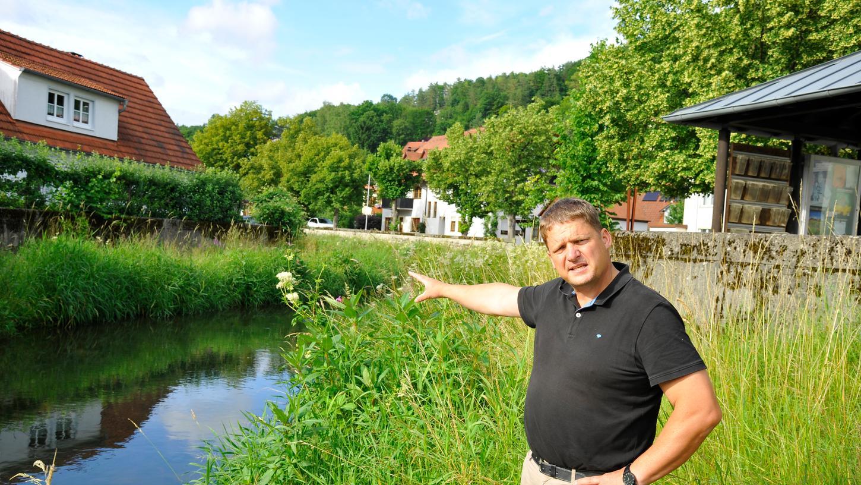 Was Heiligenstadt hat, könnte auch Unterleinleiter haben: Einen Badesee.