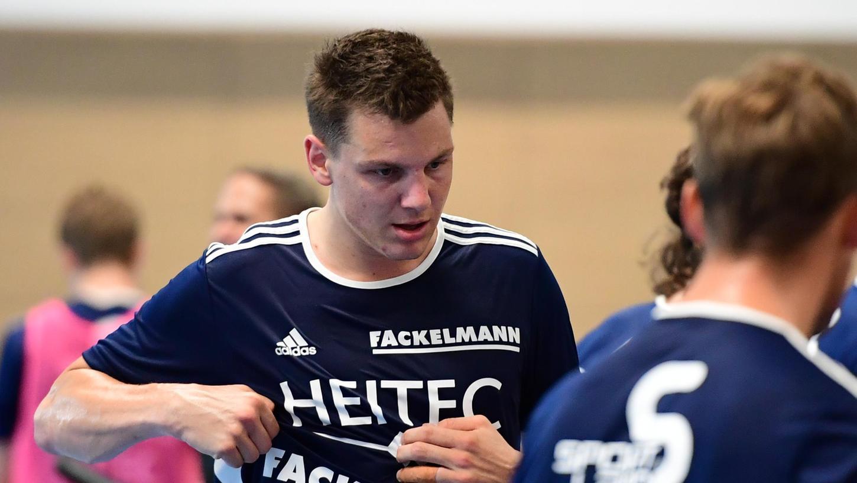 Wichtig auf dem Platz und in der Kabine: Christoph Steinert will den HC Erlangen ein zweites Mal voranbringen.