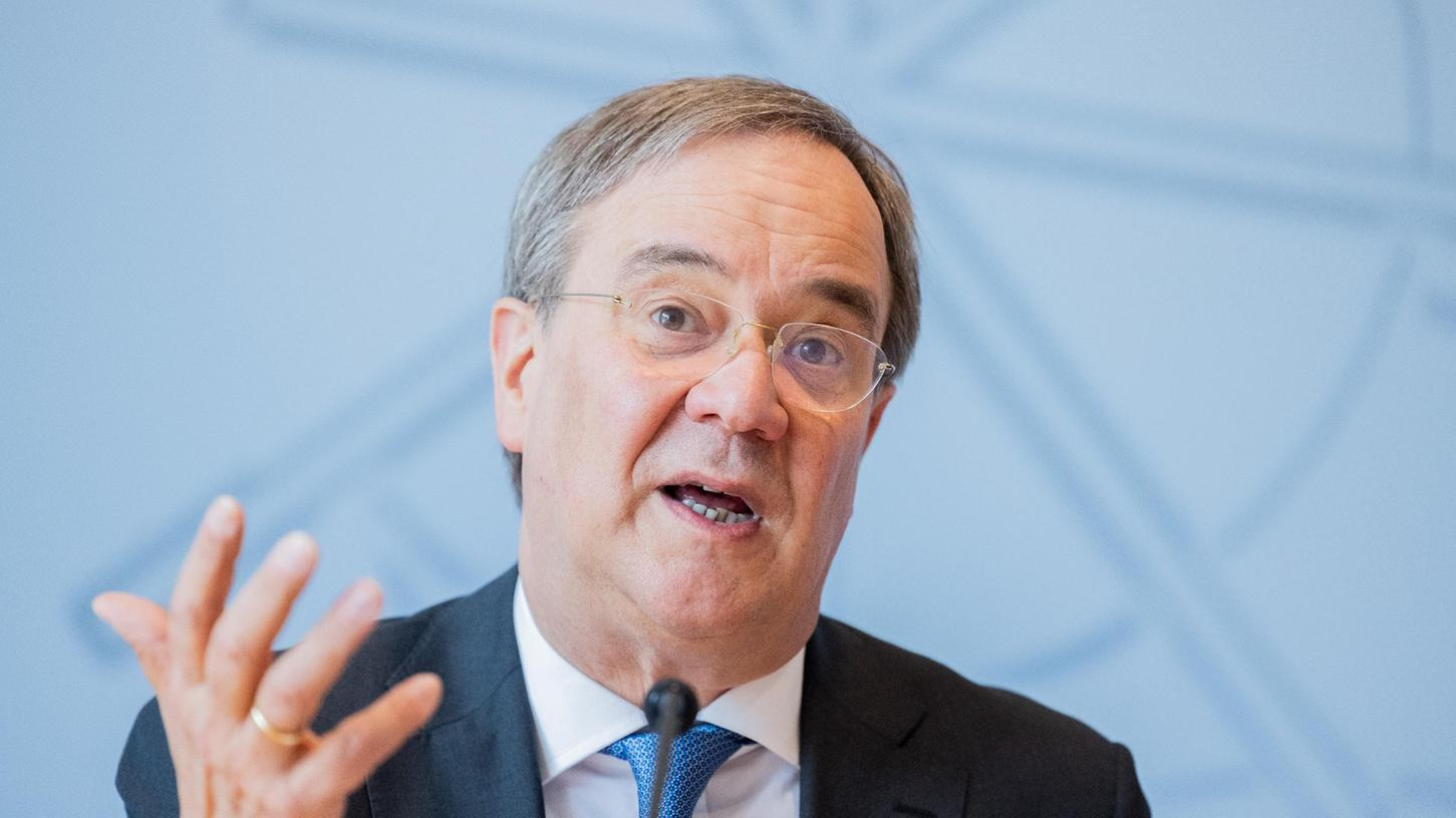 Fürchtet Armin Laschet als Kanzlerkandidat das Wählervotum, wenn er sich schon jetzt für einen harten Kurs ausspricht?