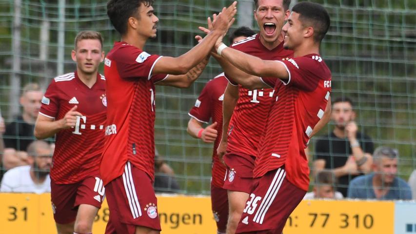Es entwickelte sich ein aufregendes Spiel - an dem letztlich auch die Bayern ihren Anteil hatten.Oliver Batista Meier erzielte nach einer halben Stunde den Ausgleich.
