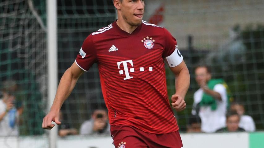 In die Pause ging der Favorit daher nur mit einem Unentschieden, das konnte auch dem Münchner Kapitän,Nicolas Feldhahn, nicht gefallen.