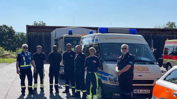 Drei Tage den Helfern helfen: So war der Einsatz am Rande des Katastrophengebiets
