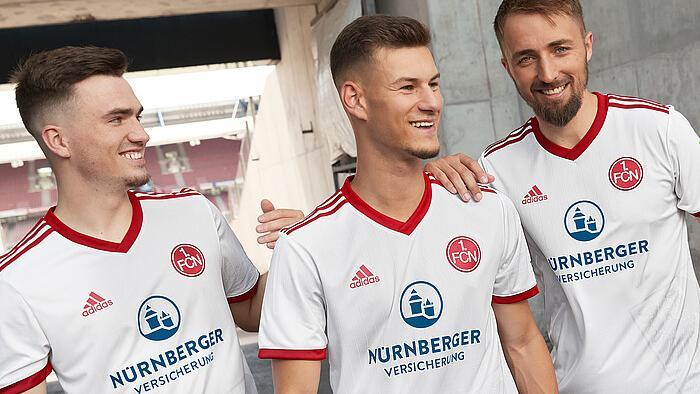 Neues Auswärtstrikot: Der 1. FC Nürnberg WEISS, wo er herkommt