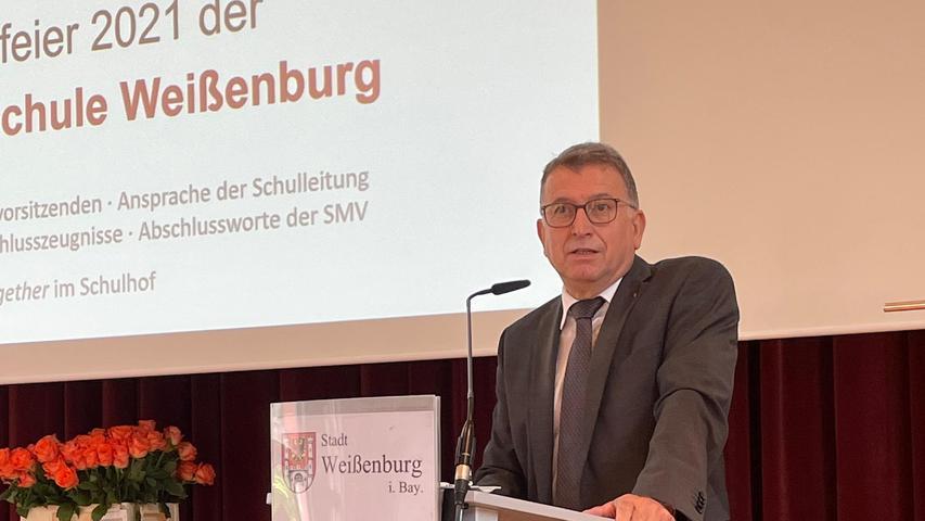 Gemeinsam geht es besser: Schulleiter Klaus Drotziger.