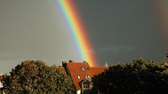 Regen - und dann? Am Abend spitzt die Sonne in Franken durch