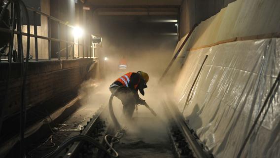 Wegen Bauarbeiten: U-Bahn in Nürnberg unterbrochen - Das müssen Pendler wissen