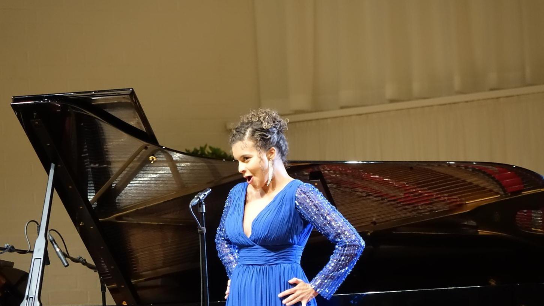 Juliet Roset beim IMA-Liederabend