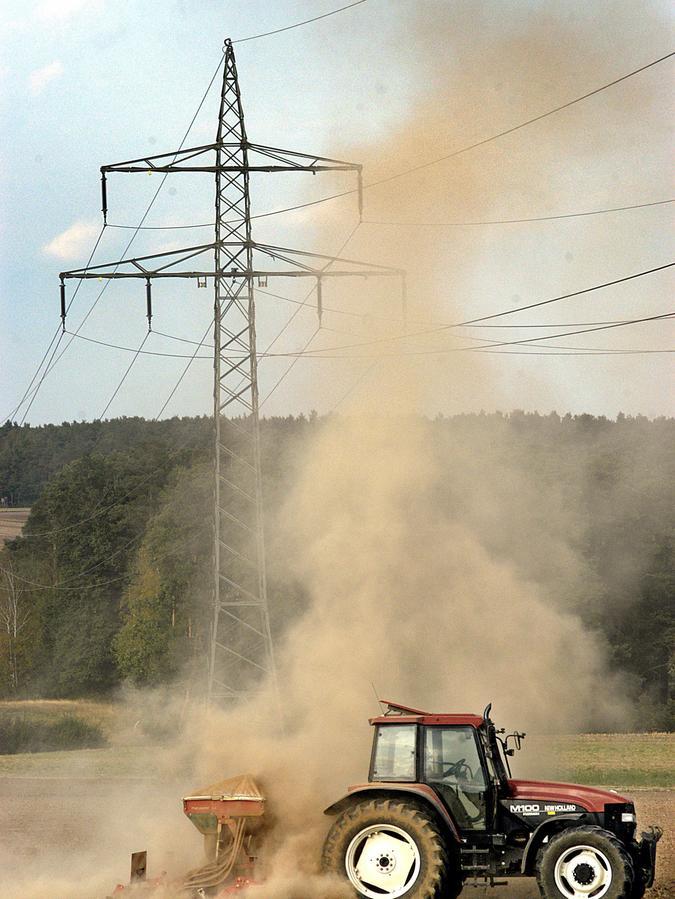 Regenarmes Franken - für das Amt für Landwirtschaft, Ernährung und Forsten Fürth-Uffenheim ist das ein Schwerpunktthema.