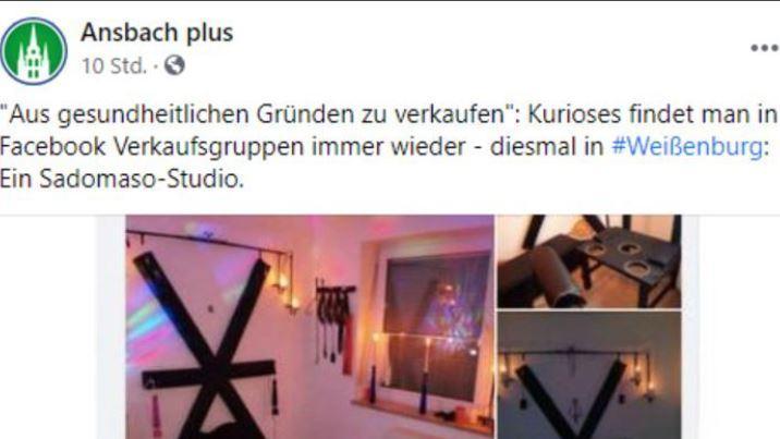 Dieser facebook-Post aus Weißenburg geht derzeit im Netz viral.
