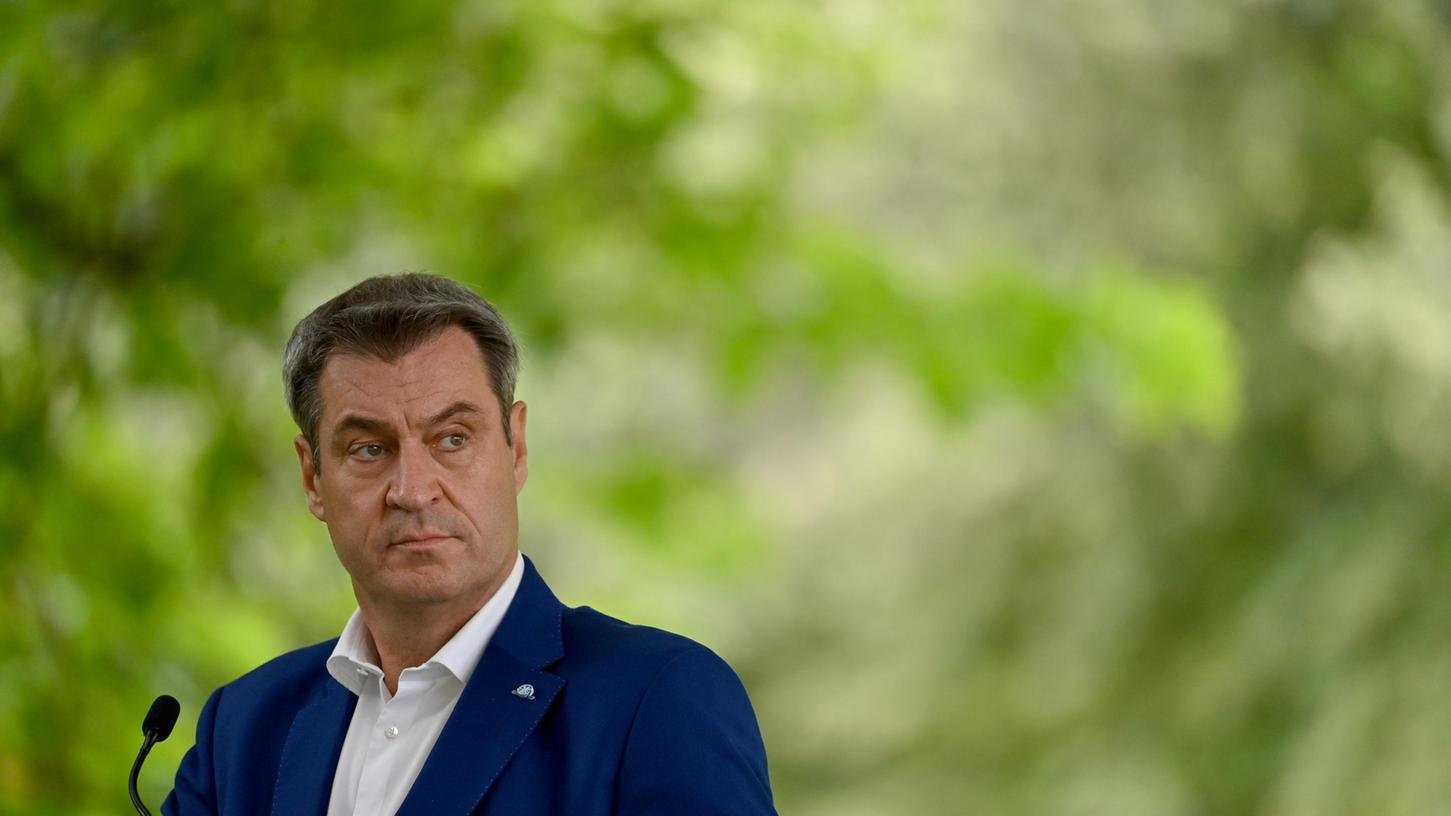 Markus Söder äußerte sich am Mittwochabend bei Lanz unter anderem zum Umgang mit Ungeimpften.