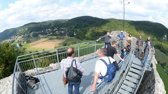 Die Ruine Neideck in der Fränkischen Schweiz soll künftig Eintritt kosten