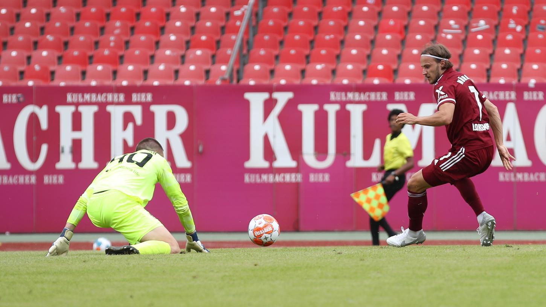 Könnte für den Club bald wieder nicht nur in Testspielen treffen: Felix Lohkemper.