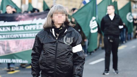 Mutmaßliche Rechtsterroristin aus Franken legt nach Urteil Revision ein