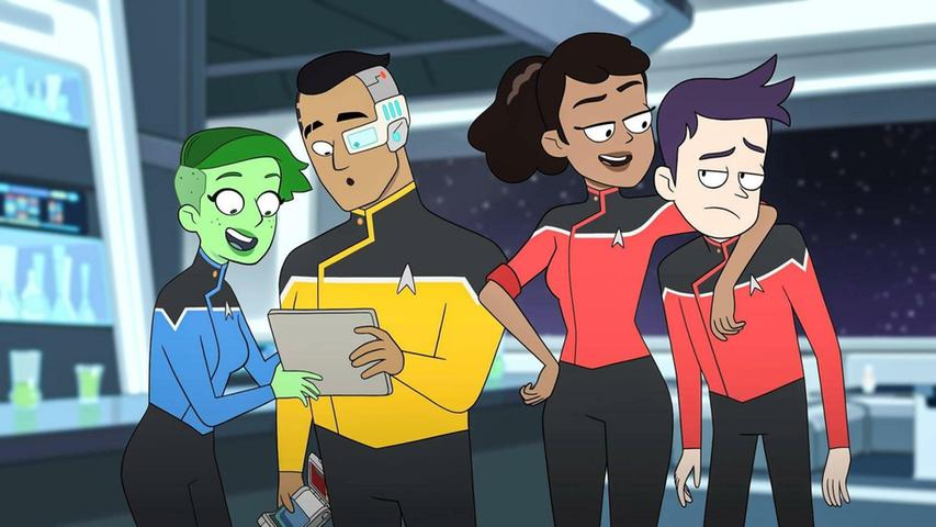 Staffel 2 von Star Trek: Lower Decks geht am 13. August bei Prime Video an den Start. Die von Emmy-Preisträger Mike McMahon konzipierte Animations-Serie spielt auf der USS Cerritos, einem weniger wichtigen Schiff der Sternenflotte. Ab 12 Jahren.
